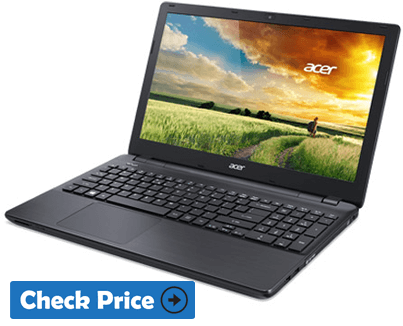 Acer Aspire E15 E5-575 Best laptop for revit
