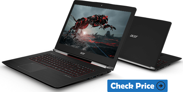 Acer Aspire V17 Nitro laptop review graphic designer