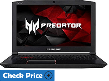 Acer Predator Helios 300 laptop for adobe premiere