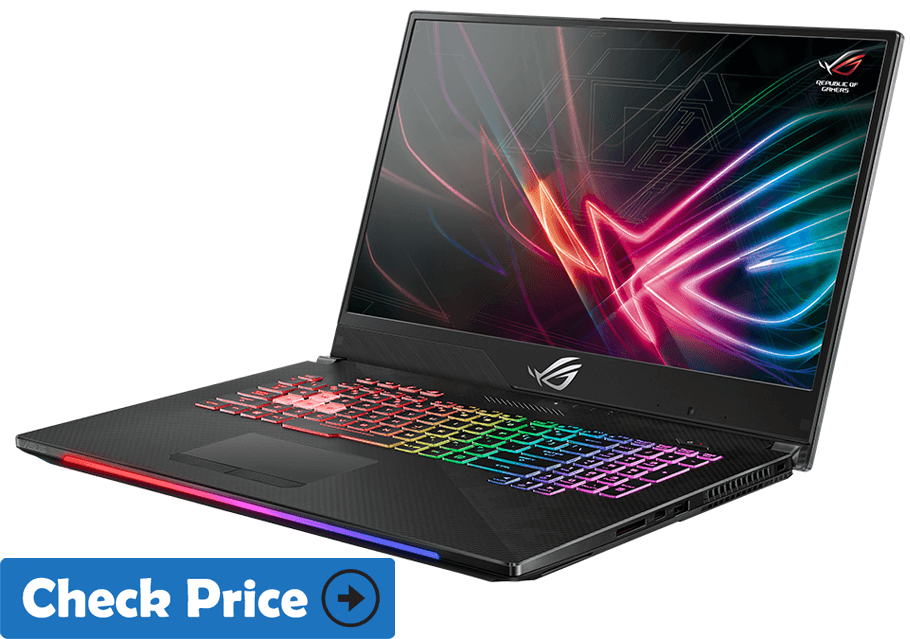 Asus ROG Strix SCAR II laptop for graphic designers