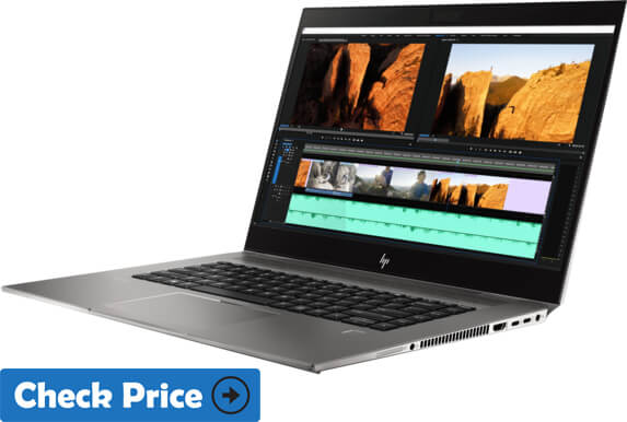 HP ZBook Studio G5 graphic designer laptop