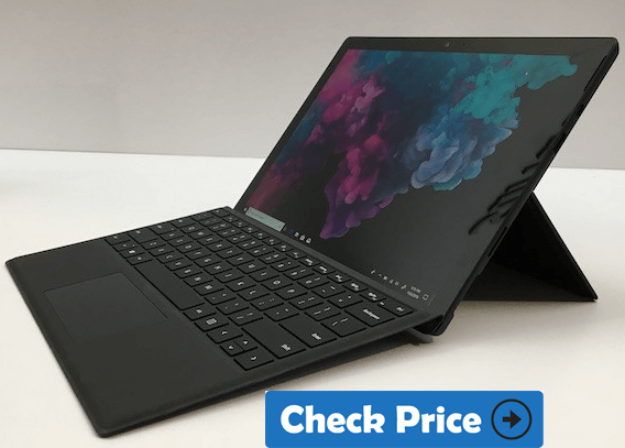 Microsoft Surface Pro 6 laptop for designers