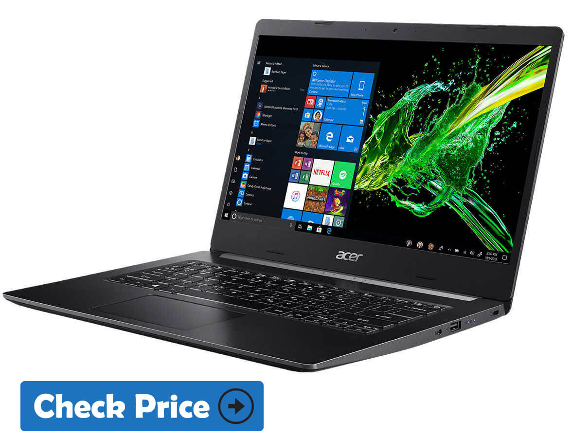 Acer Aspire 5 for video editing laptop under 700