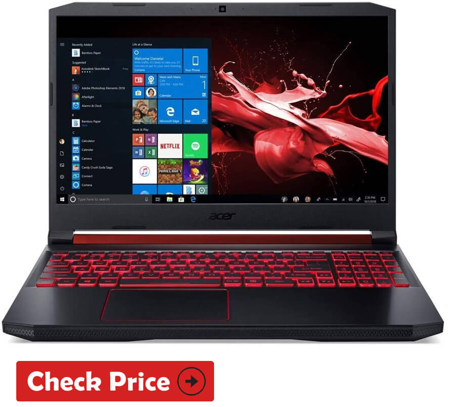 Acer Nitro 5 laptop for gaming under 700 bucks