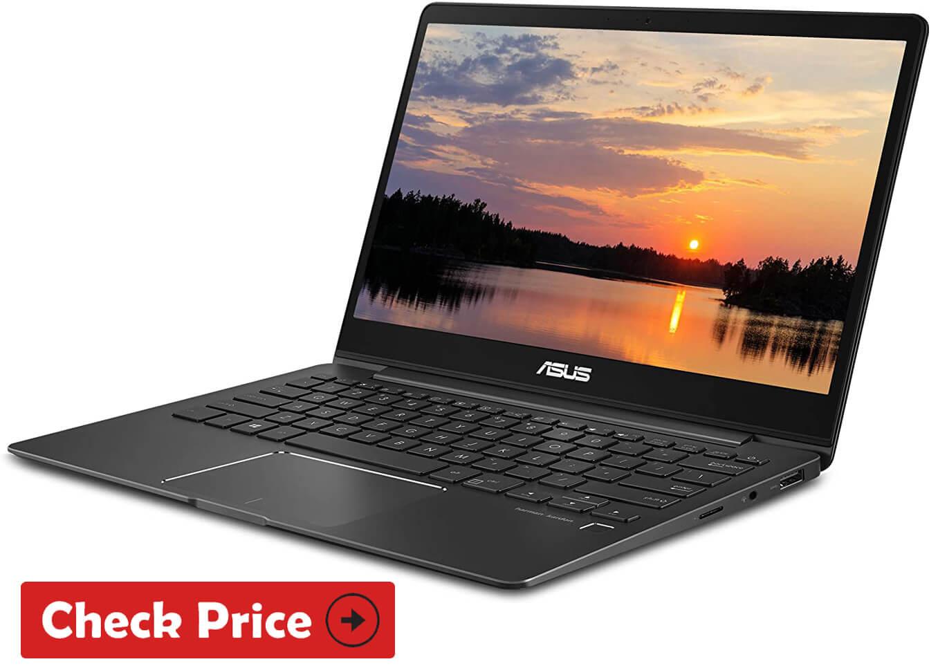 ASUS ZenBook 13 laptop for realtors